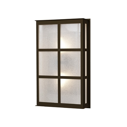 Besa Lighting Besa Lighting Bree Bronze LED Outdoor Wall Light BREE16-GL-LED-BR