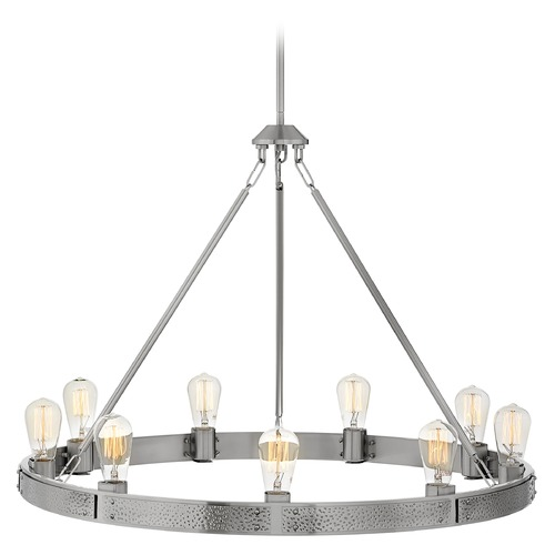 Hinkley Hinkley Everett 9-Light Brushed Nickel Chandelier 4398BN