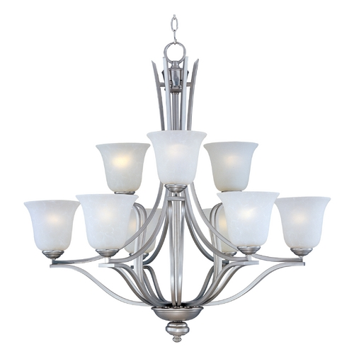 Maxim Lighting Maxim Lighting Madera Satin Silver Chandelier 10177ICSS