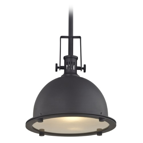Design Classics Lighting Design Classics Vaughn Bolivian Bronze Pendant Light with Bowl / Dome Shade 701-78