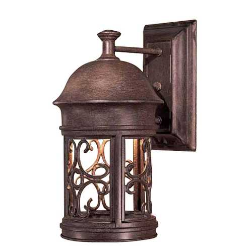 Minka Lavery 12-3/4-Inch Outdoor Wall Light 8281-A61