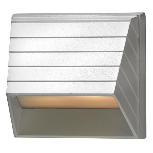 Hinkley Lighting Modern LED Recessed Deck Light in Matte White Finish 1524MW-LED
