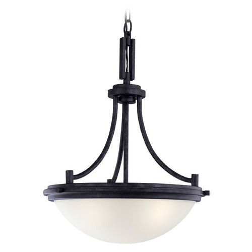 Sea Gull Lighting Sea Gull Lighting Winnetka Blacksmith Pendant Light 65661BLE-839