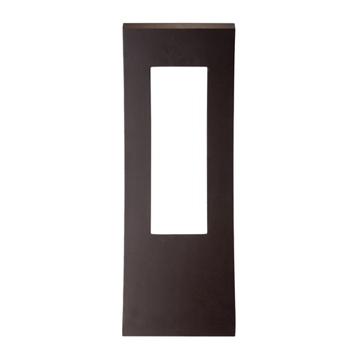 Modern Forms by WAC Lighting Modern Forms Dawn Bronze LED Outdoor Wall Light WS-W2223-BZ