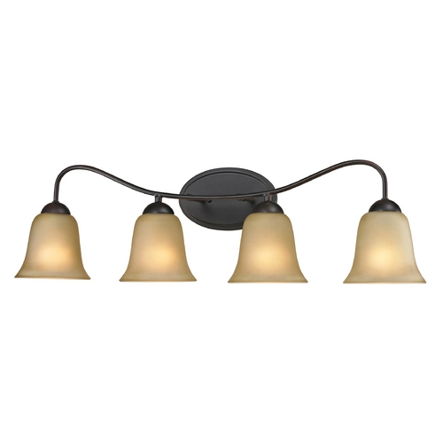 Cornerstone Lighting Cornerstone Lighting Conway Oil Rubbed Bronze Bathroom Light 1204BB/10