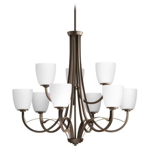 Progress Lighting Progress Lighting Merge Antique Bronze Chandelier P4317-20