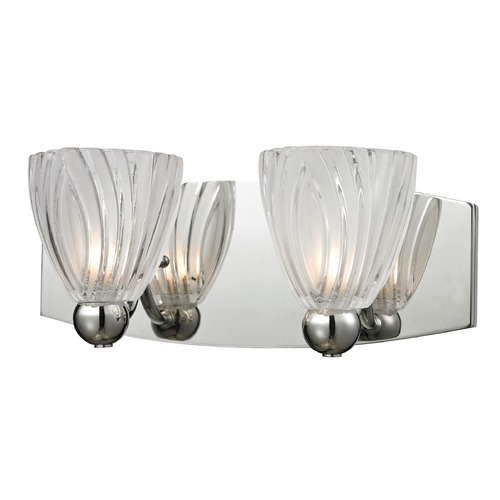 Elk Lighting Elk Lighting Lindale Polished Chrome Bathroom Light 11791/2