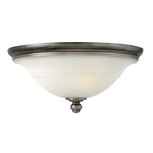 Hinkley Lighting Hinkley Lighting Plymouth Polished Antique Nickel Flushmount Light 4241PL