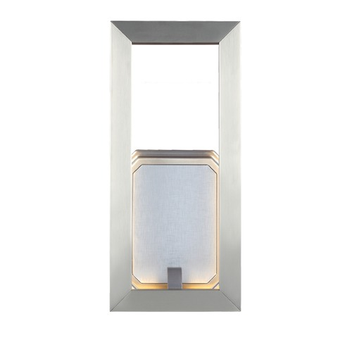 Feiss Lighting Feiss Lighting Khloe Satin Nickel LED Sconce WB1775SN