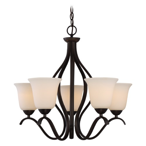 Nuvo Lighting Nuvo Lighting Dillard Aged Bronze Chandelier 60/5915