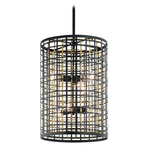 Kichler Lighting Pendant Light Black Aldergate by Kichler Lighting 44078BK