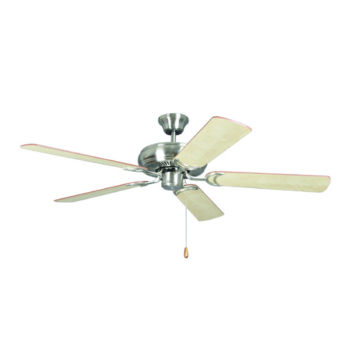 Craftmade Lighting Craftmade Lighting Decorator's Choice Brushed Polished Nickel Ceiling Fan Without Light DCF52BNK5