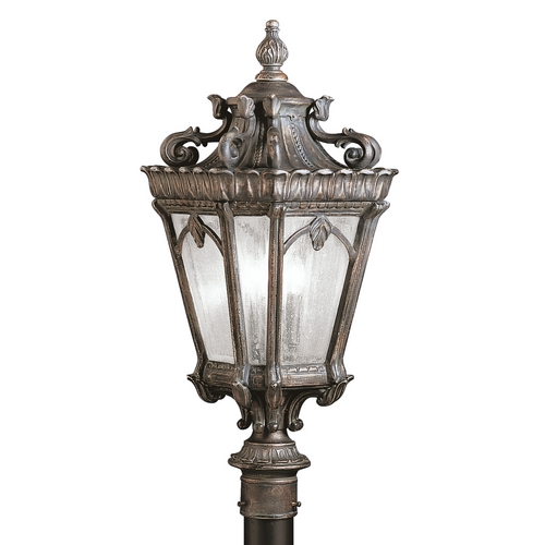 Kichler Lighting Kichler Post Light with Clear Glass in Londonderry Finish 9558LD