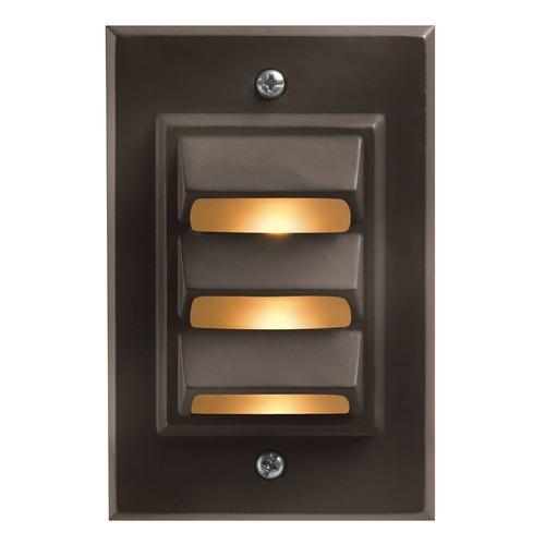 Hinkley Lighting Modern LED Recessed Deck Light in Bronze Finish 1542BZ-LED