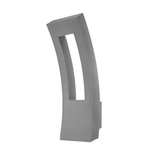 Modern Forms by WAC Lighting Modern Forms Dawn Graphite LED Outdoor Wall Light WS-W2223-GH