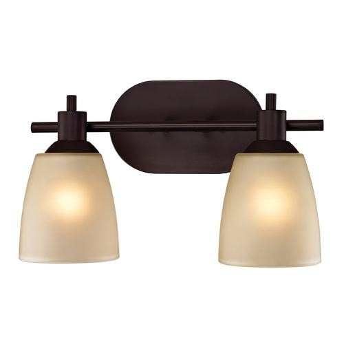 Cornerstone Lighting Cornerstone Lighting Jackson Oil Rubbed Bronze Bathroom Light 1302BB/10