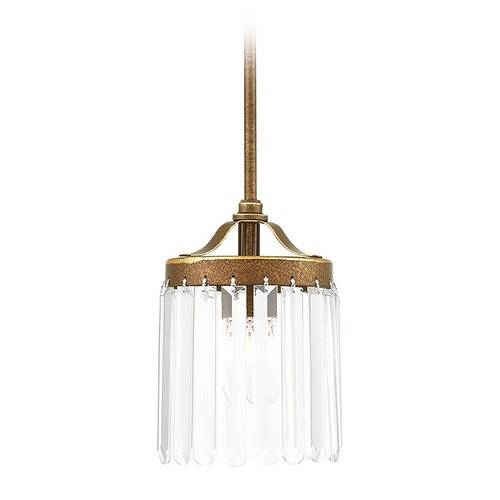 Livex Lighting Livex Lighting Ashton Hand Painted Palacial Bronze Mini-Pendant Light 50530-64