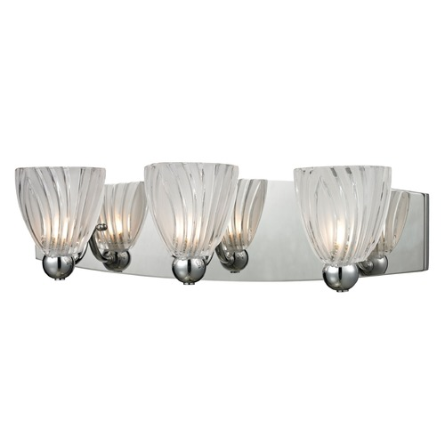 Elk Lighting Elk Lighting Lindale Polished Chrome Bathroom Light 11792/3