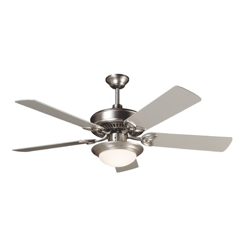 Craftmade Lighting Craftmade Lighting Cxl Brushed Satin Nickel Ceiling Fan with Light K10675