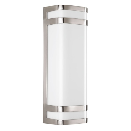 Progress Lighting Progress Lighting Valera LED Brushed Nickel LED Outdoor Wall Light P5806-0930K9