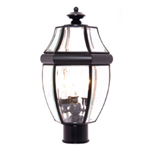 Maxim Lighting Maxim Lighting South Park Black Post Light 6097CLBK