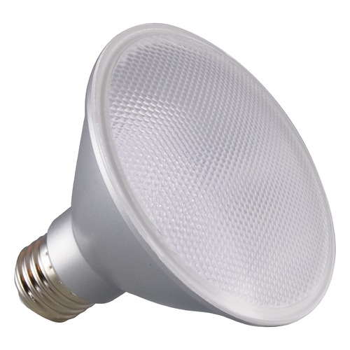 Satco Lighting Satco 12.5 Watt PAR30SN LED 5000K 1000LM 40 deg. Beam Medium Base 120 Volt Dimmable S29419