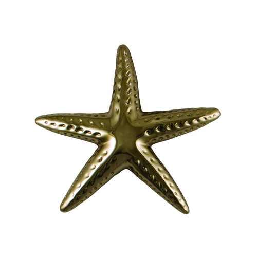 Michael Healy Starfish Door Knocker in Silver Nickel Finish MH1063