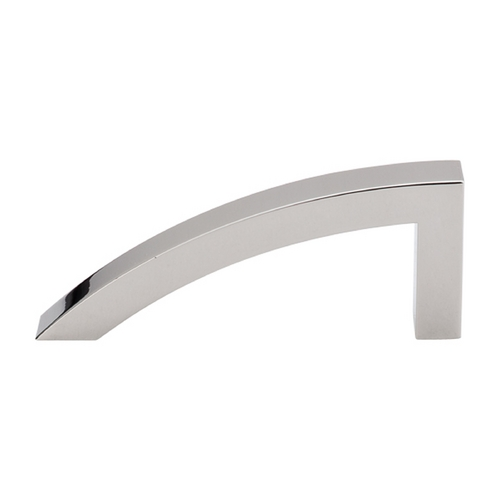 Top Knobs Hardware Modern Cabinet Pull in Polished Nickel Finish TK35PN
