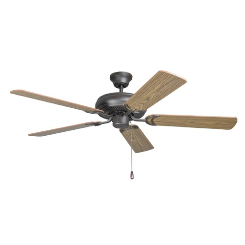 Craftmade Lighting Craftmade Lighting Decorator's Choice French Bronze Ceiling Fan Without Light DCF52FBZ5