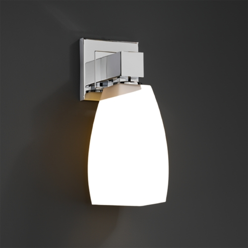 Justice Design Group Justice Design Group Fusion Collection Sconce FSN-8705-65-OPAL-CROM