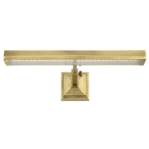 WAC Lighting Wac Lighting Burnished Brass LED Picture Light PL-LED24P-27-BB