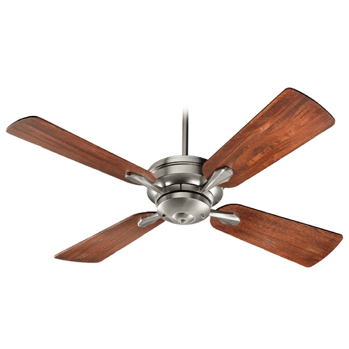 Quorum Lighting Quorum Lighting Valor Satin Nickel Ceiling Fan Without Light 81524-65
