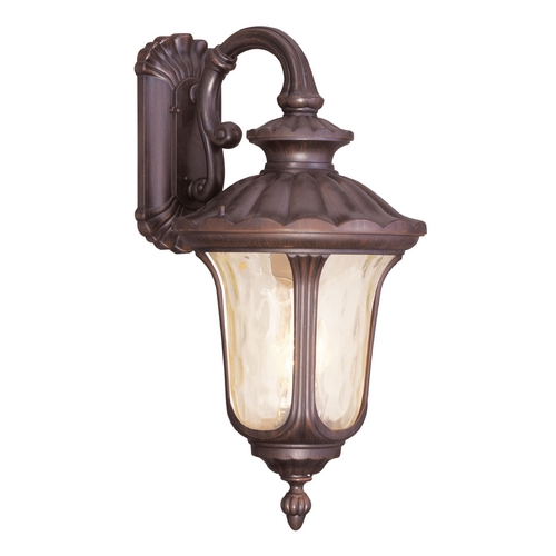 Livex Lighting Livex Lighting Oxford Imperial Bronze Outdoor Wall Light 7663-58