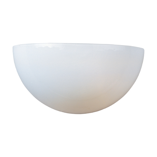 Maxim Lighting Sconce with White in White Finish 20585WTWT