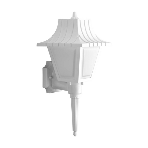Progress Lighting Progress Outdoor Wall Light with White in White Finish P5843-30WB
