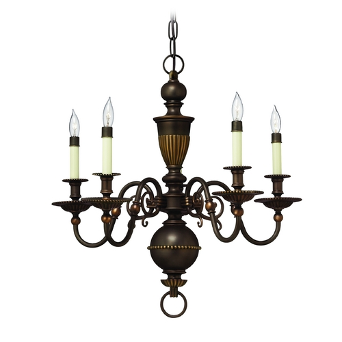 Hinkley Lighting Chandelier in Olde Bronze Finish 4415OB