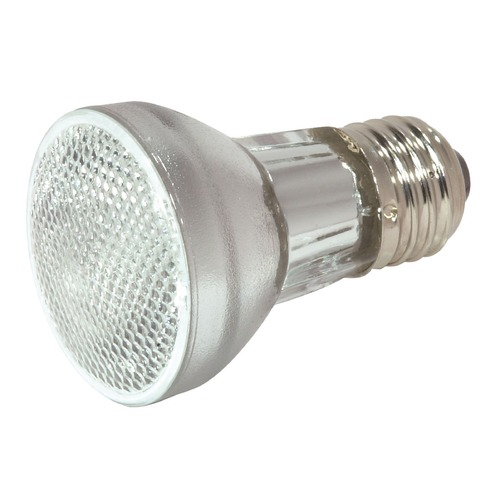 Satco Lighting Halogen PAR16 Light Bulb Medium Base Narrow Flood 30 Degree Beam Spread 2900K 130V Dimmable S2300