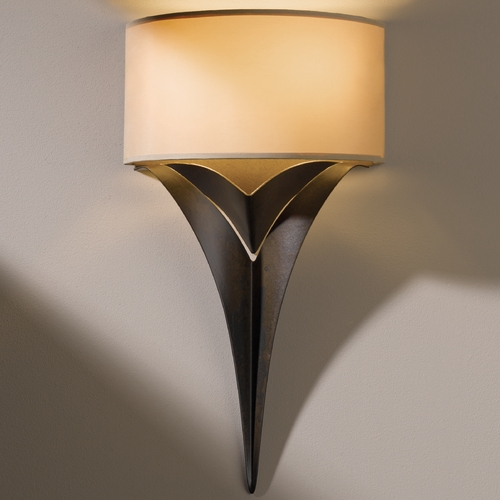 Hubbardton Forge Lighting Hubbardton Forge Lighting Calla Bronze Sconce 205315-05-462
