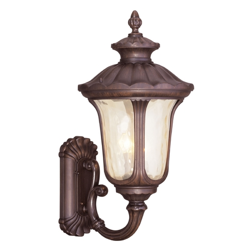 Livex Lighting Livex Lighting Oxford Imperial Bronze Outdoor Wall Light 7662-58