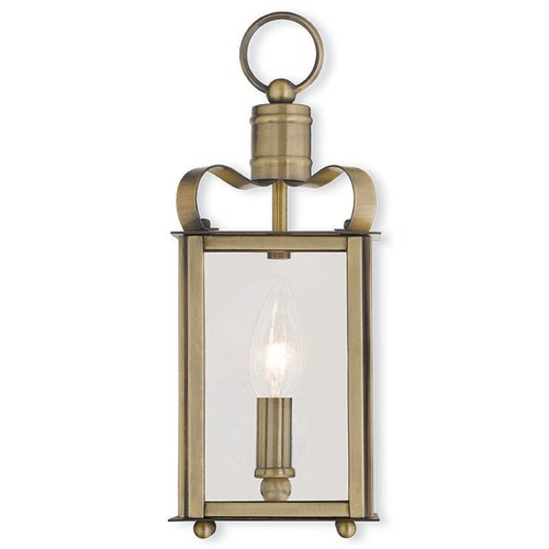 Livex Lighting Livex Lighting Garfield Antique Brass Sconce 43000-01