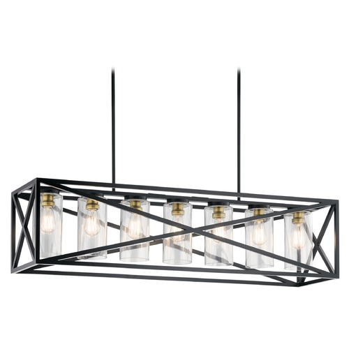 Kichler Lighting Island Light Black Moorgate by Kichler Lighting 44082BK