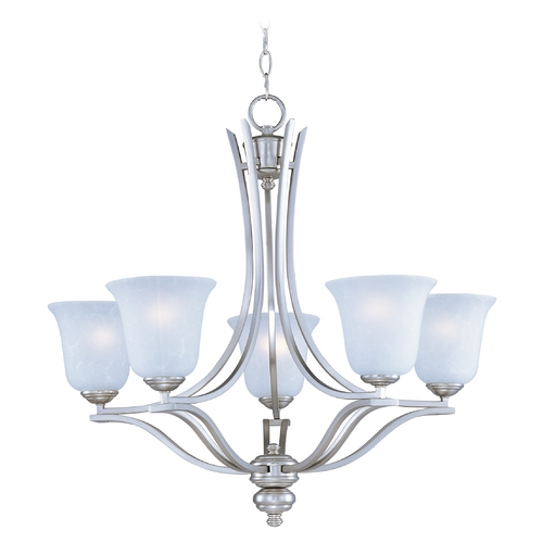 Maxim Lighting Maxim Lighting Madera Satin Silver Chandelier 10175ICSS