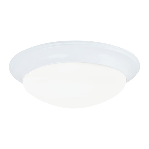 Sea Gull Lighting Sea Gull Lighting Nash White LED Flushmount Light 7543591S-15