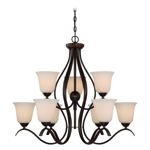 Nuvo Lighting Nuvo Lighting Dillard Aged Bronze Chandelier 60/5919