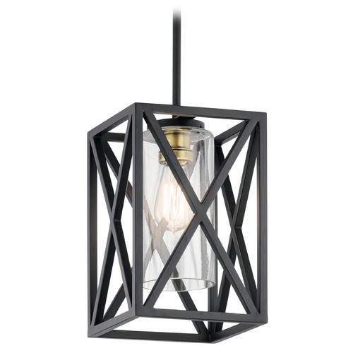 Kichler Lighting Pendant Light Black Moorgate by Kichler Lighting 44083BK