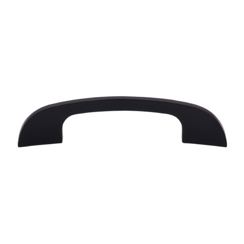 Top Knobs Hardware Modern Cabinet Pull in Flat Black Finish TK41BLK