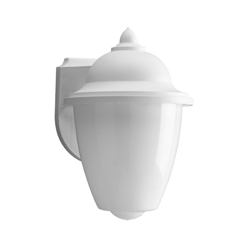 Progress Lighting Progress Outdoor Wall Light with White in White Finish P5881-30WB