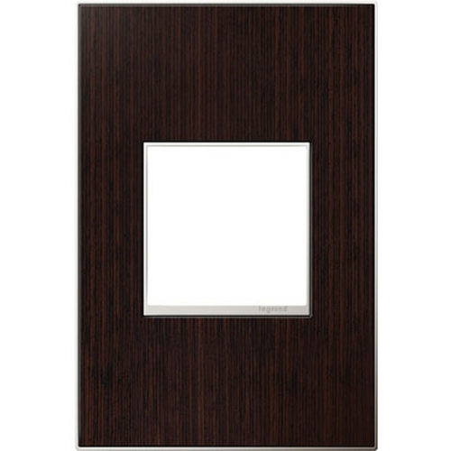 Legrand Adorne Legrand Adorne Wenge Wood 1-Gang Switch Plate AWM1G2WE4