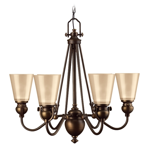 Hinkley Lighting Hinkley 6-Light Chandelier in Olde Bronze 4166OB