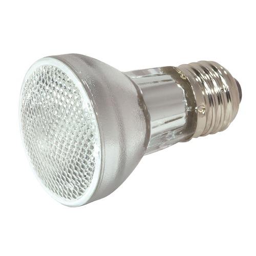 Satco Lighting Halogen PAR16 Light Bulb Medium Base Narrow Spot 10 Degree Beam Spread 2900K 130V Dimmable S2302